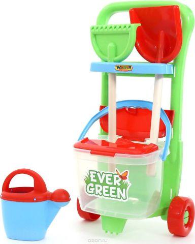 Полесье Набор игрушек для песочницы №395 Ever Green