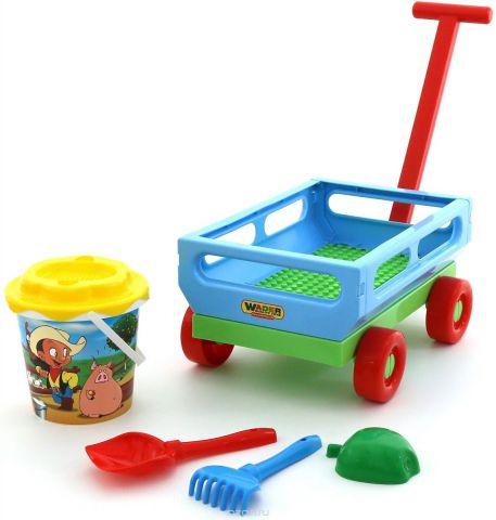 Полесье Набор игрушек для песочницы №420