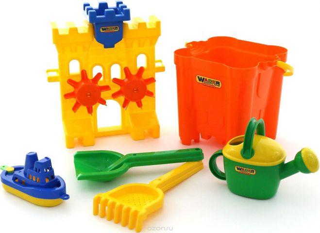 Полесье Набор игрушек для песочницы №472
