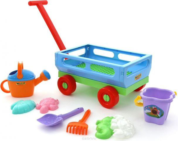 Полесье Набор игрушек для песочницы №490