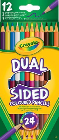 Crayola Набор двусторонних карандашей 12 шт