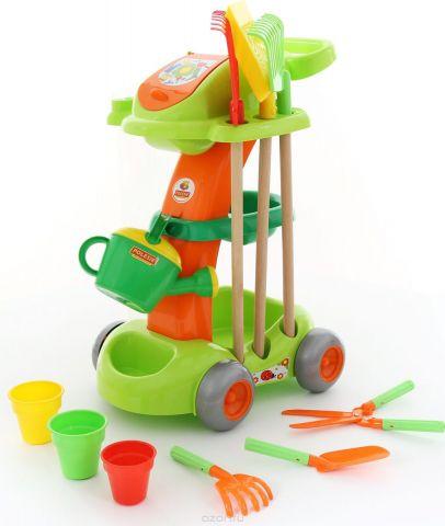 Полесье Набор игрушек для песочницы Садовый