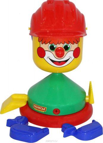 Полесье Набор игрушек для песочницы Строитель 8 предметов