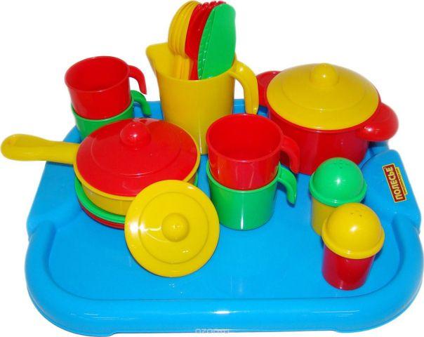 Полесье Набор игрушечной посуды Настенька 3964