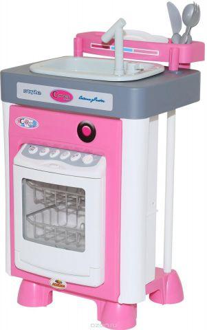 Полесье Игровой набор Carmen №3 с посудомоечной машиной и мойкой 57914