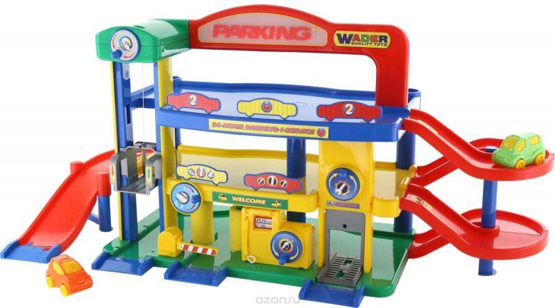 Полесье Игровой набор Гараж №1 Премиум с автомобилями