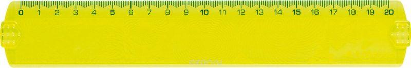 Maped Линейка Geocustom цвет желтый 20 см