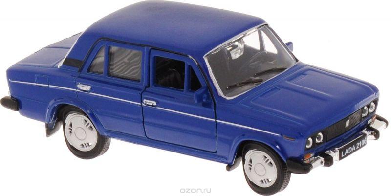 Welly Модель автомобиля LADA 2106 цвет синий