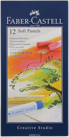 "Мягкие мелки Faber-Castell ""Studio Quality Soft Pastels"", 12 шт"