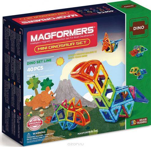 Magformers Магнитный конструктор Mini Dinosaur Set