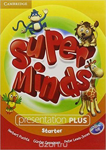 Super Minds: Starter: Presentation (+ DVD-ROM)