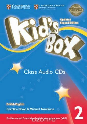 Kid's Box: Level 2 (Class Audio 4 CDs)