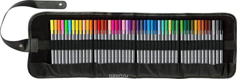 Staedtler Набор капиллярных ручек Triplus 334 Яркие цвета 48 цветов