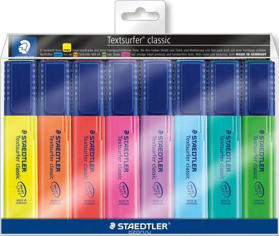 Staedtler Набор текстовыделителей Сlassic 364 8 цветов