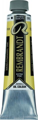 Royal Talens Краска масляная Rembrandt цвет 280 Желтый никелево-титановый насыщенный 40 мл