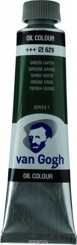 Royal Talens Краска масляная Van Gogh цвет 629 Зеленая земля 40 мл