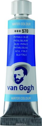 Royal Talens Акварель Van Gogh цвет 570 Синий фталоцианин 10 мл