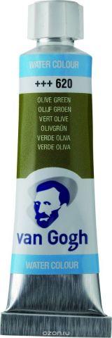 Royal Talens Акварель Van Gogh цвет 620 Зеленый оливковый 10 мл
