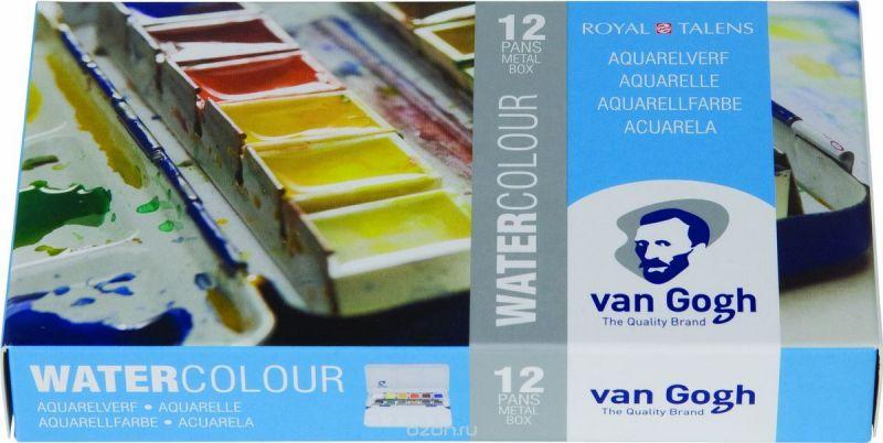 """Набор акварельных красок Royal Talens """"Van Gogh"""", 12 цветов, 20838612"""