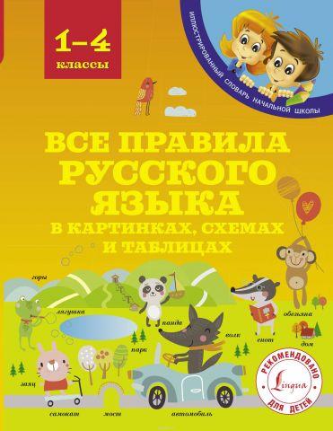 Все правила русского языка в картинках, схемах и таблицах