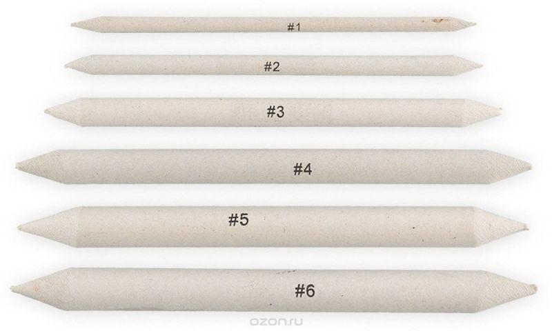 Vista-Artista Набор бумажных растушевок 6 шт