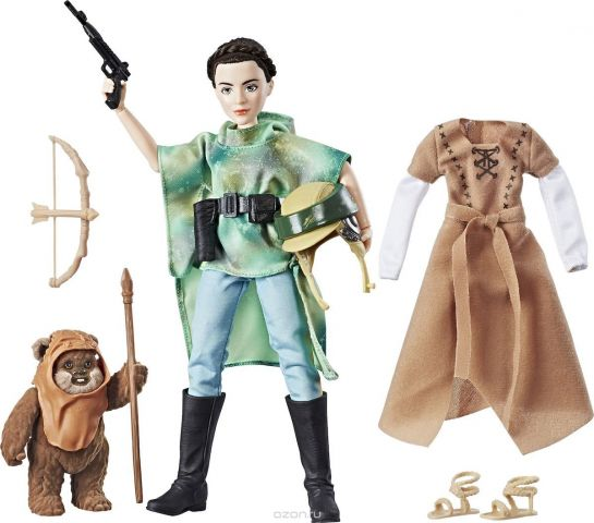 Star Wars Игровой набор с куклой Планета Эндор