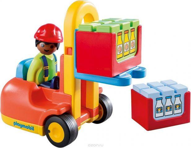 Playmobil Игровой набор Вилочный погрузчик