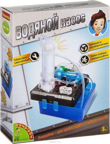 Bondibon Набор для опытов и экспериментов Французские опыты Науки с Буки Водяной насос