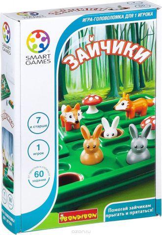 Bondibon Настольная игра Зайчики