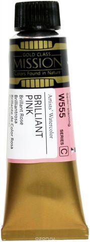 Mijello Акварель Mission Gold цвет W555 Розовый бриллиант 15 мл MWC-W555