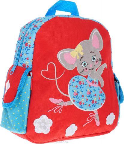 Феникс+ Рюкзак дошкольный Мышка-балерина