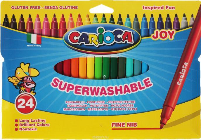 Carioca Набор фломастеров Joy 24 цвета