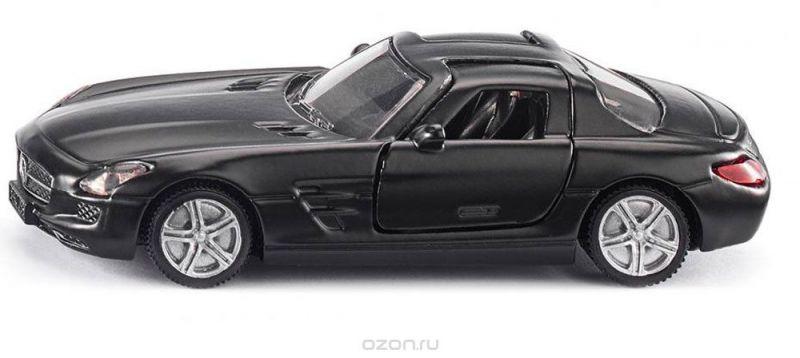 Siku Модель автомобиля Mercedes-Benz SLS AMG цвет черный