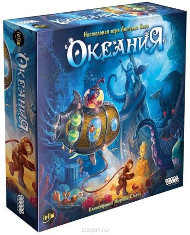 Hobby World Настольная игра Океания