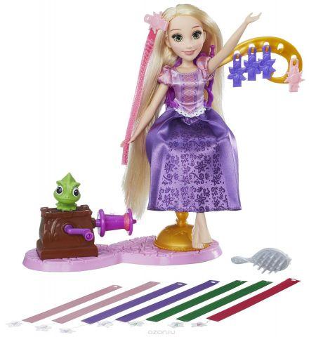 Disney Princess Игровой набор с куклой Королевский салон Рапунцель