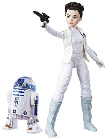 Star Wars Набор фигурок Princess Leia Organa & R2-D2