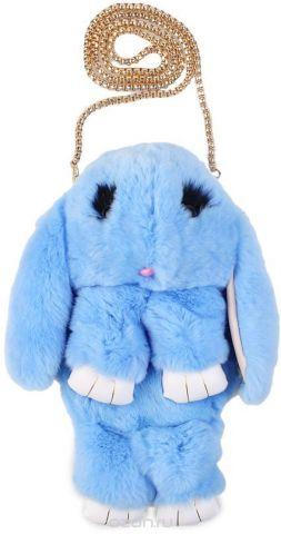 Рюкзак детский Пушистый кролик цвет голубой