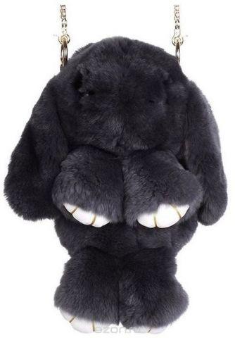Рюкзак детский Пушистый кролик цвет черный