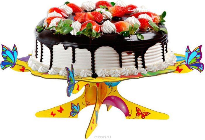 Страна Карнавалия Подставка для пироженых Веселого дня рождения