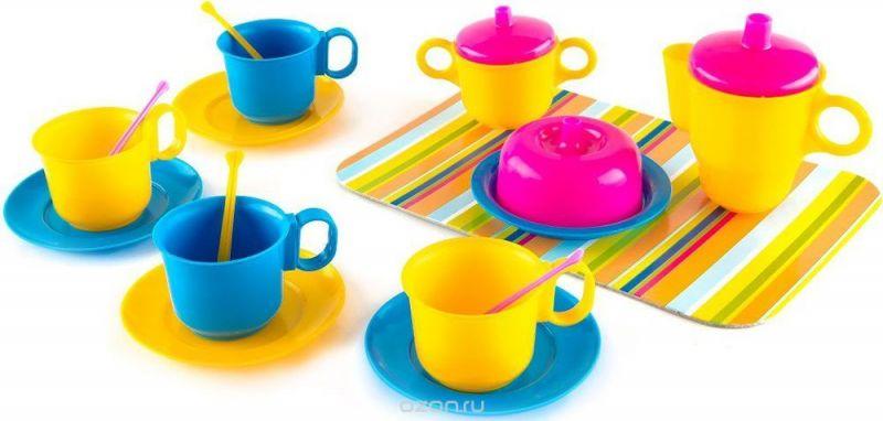Пластмастер Игровой набор посуды Чаепитие