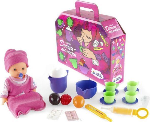 Пластмастер Игровой набор Дочки-матери с куклой