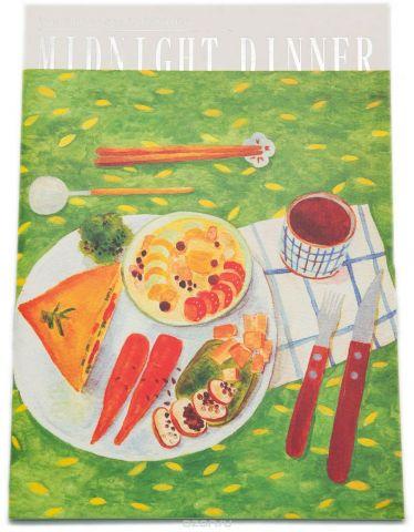 Еж-стайл Тетрадь Midnight Dinner 38 листов в линейку цвет зеленый