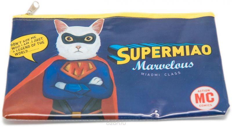 Еж-стайл Пенал Supermiao Superman