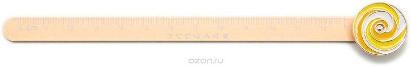 Еж-стайл Линейка Гипнокруг цвет бежевый 18,5 см