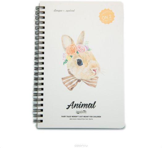Еж-стайл Тетрадь Animal Rabbit 2 A5 68 листов в линейку