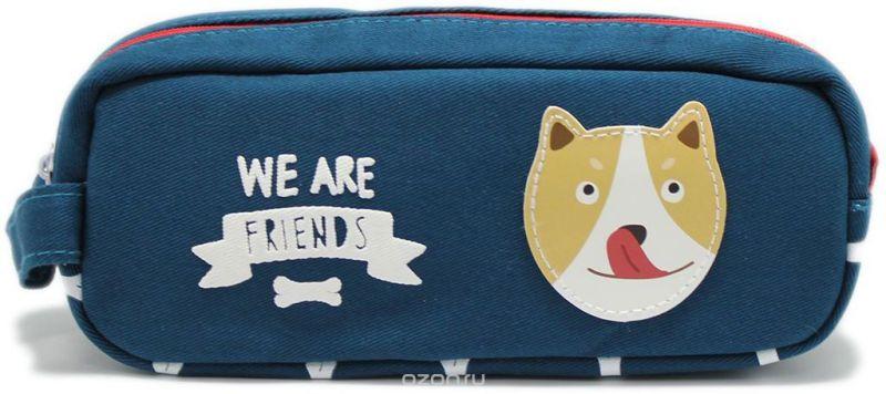 Еж-стайл Пенал-косметичка We Are Friends цвет синий