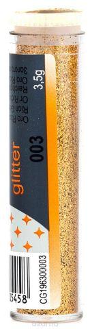 Ferrario Глиттеры Craft №03 цвет богатое золото 3,5 г