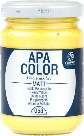 Ferrario Краска акриловая Apa Color цвет желтый перламутровый BA0095AO053