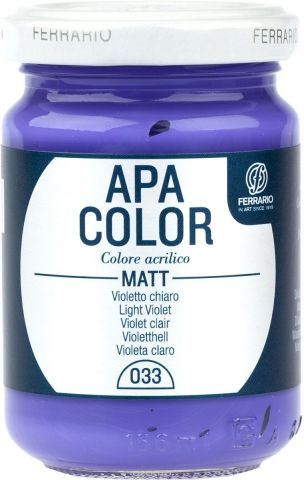 Ferrario Краска акриловая Apa Color цвет светло-фиолетовый