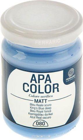 Ferrario Краска акриловая Apa Color цвет синий темный BA0095AO080